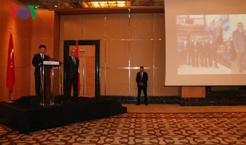 Đại sứ Nguyễn Thế Cường phát biểu tại buổi lễ