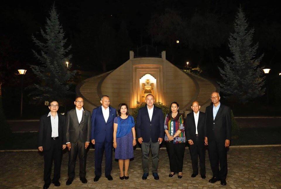 Buổi tối làm việc của các Đại sứ ASEAN với Bộ trưởng Ngoại giao Thổ Nhĩ Kỳ