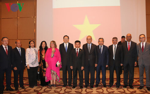 Nhiều người Việt đã tới tham dự