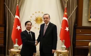 Tổng thống Recep Tayyip Erdoğan tiếp Đại sứ Phạm Anh Tuấn