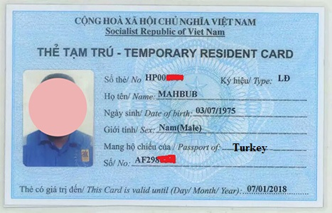 temporary_residence_card_vietnam_for_turkish