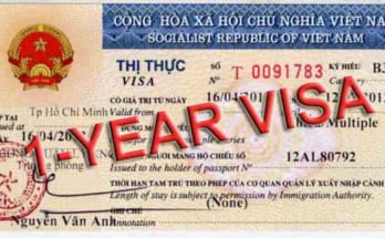one year vietnam visa for turkish