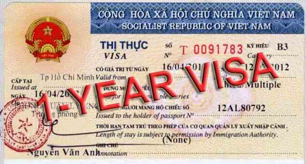 one year vietnam visa for turkish