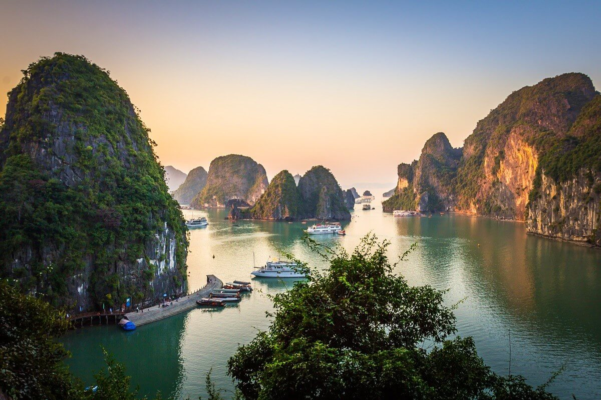 ha long bay - best places to visit Vietnam in April