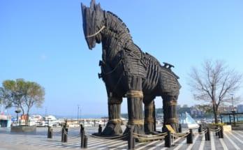 Con ngựa thành Troy di sản nổi tiếng thế giới