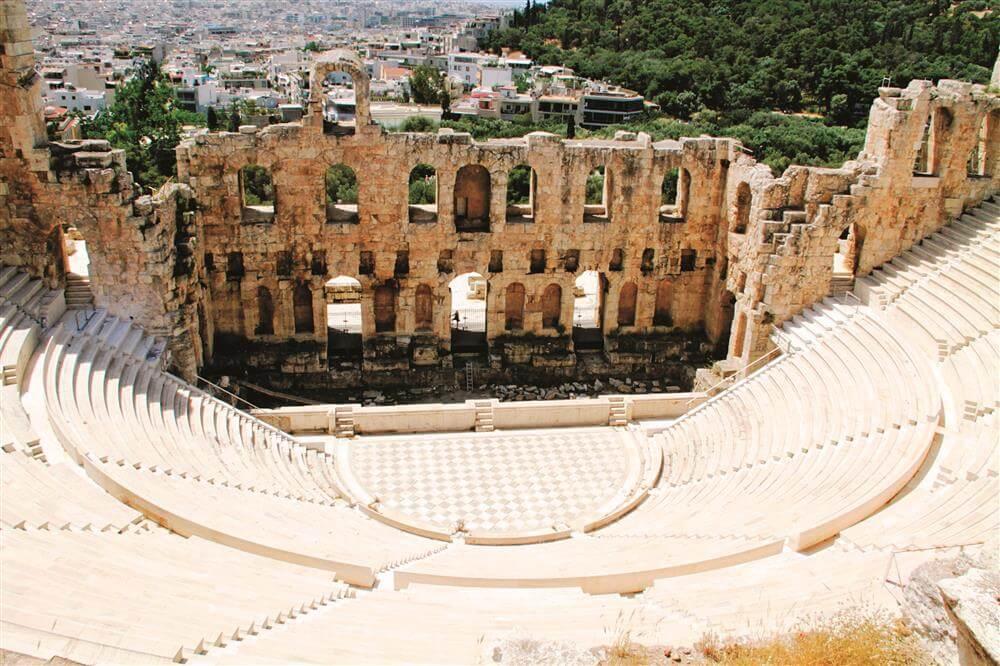 Kiến trúc độc đáo tại Đồi Acropolis