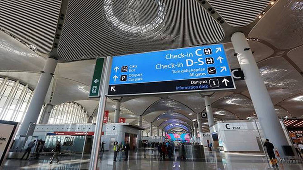 Quang cảnh sân bay Istanbul được thiết kế rộng, có quy mô và mang tầm đẳng cấp quốc tế
