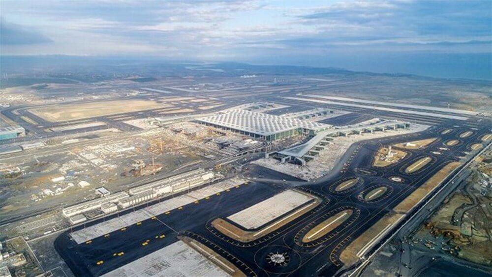 Sân bay Istanbul được đánh giá là một trong những sân bay lớn nhất tại Thổ Nhĩ Kỳ
