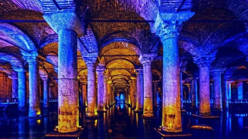 Thành phố dưới lòng đất Underground Water Cistern nổi tiếng