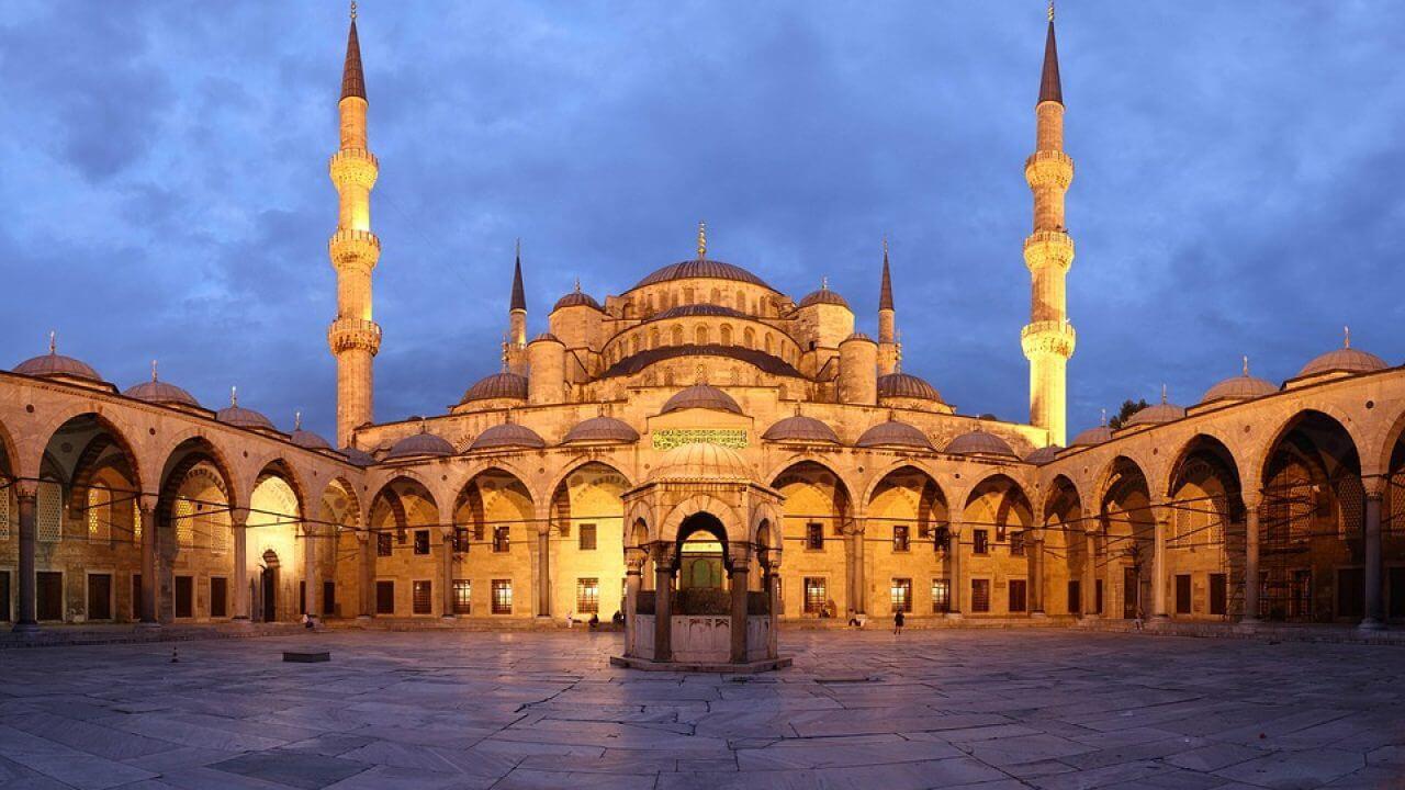 Thánh đường Hồi Giáo Xanh St Sophia