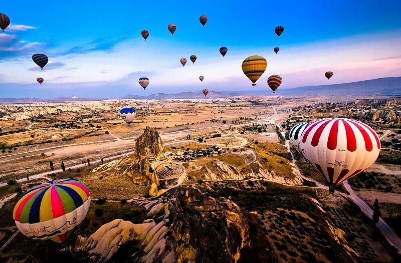 Thổ Nhĩ Kì xứ sở của những khinh khí cầu