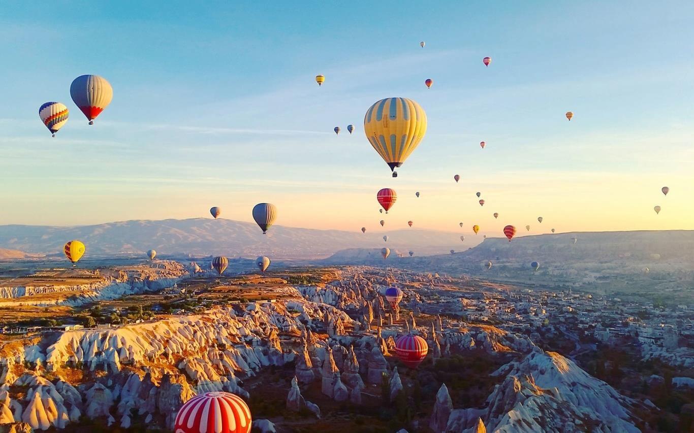 Du lịch Thổ Nhĩ Kỳ đến với xứ sở của những khinh khí cầu