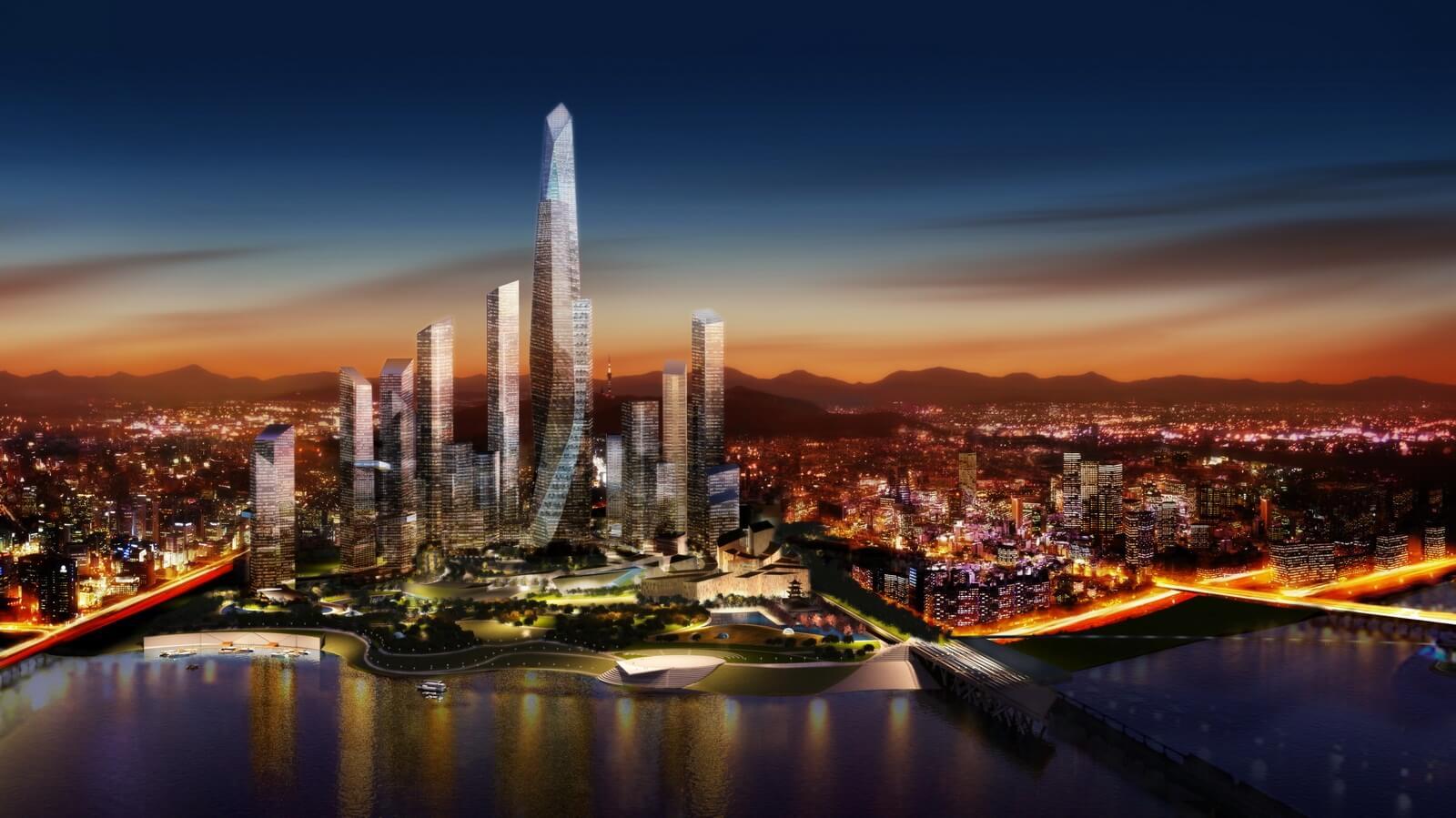 Thủ đô Seoul về đêm đẹp lung linh