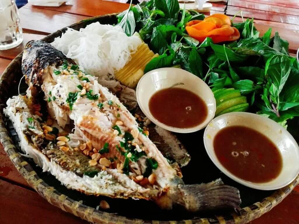 Cá lóc nướng trui thơm ngon hấp dẫn