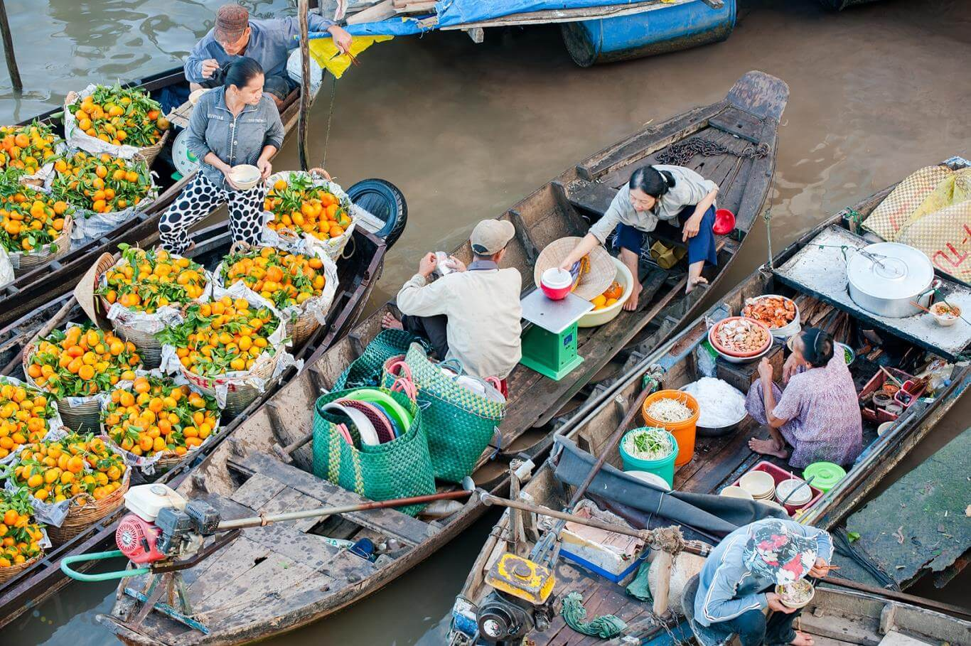 Chợ nổi Cái Răng nét văn hóa đặc trưng miền tây