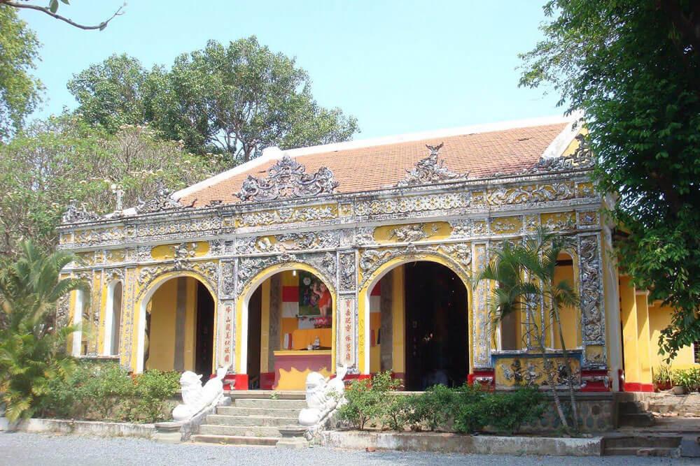 Ngôi chùa Bửu Phong Cổ Tự