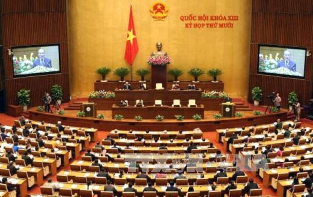 Quốc hội ban hành luật các tổ chức tín dụng