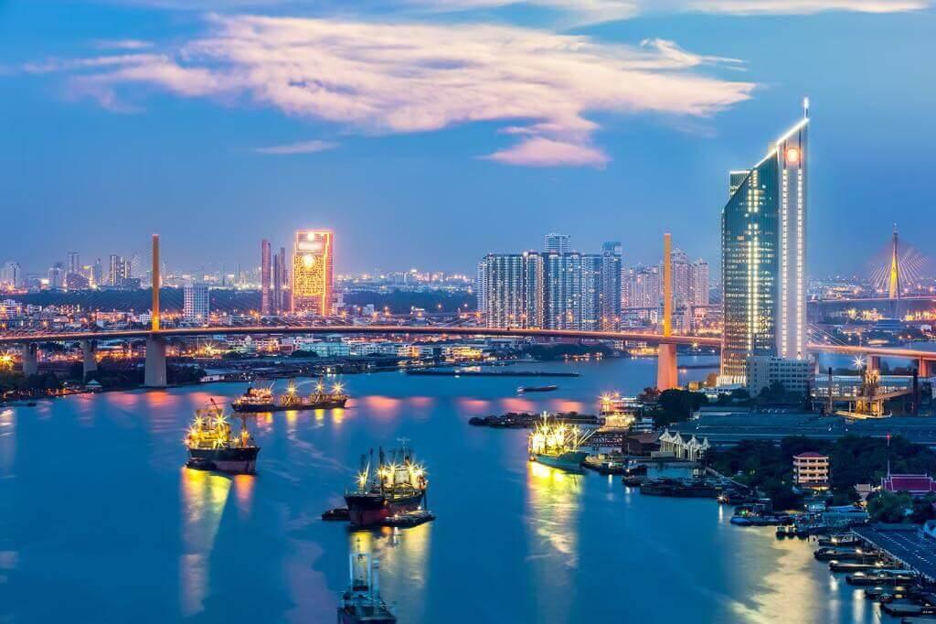 Khung cảnh thành phố Cần Thơ về đêm