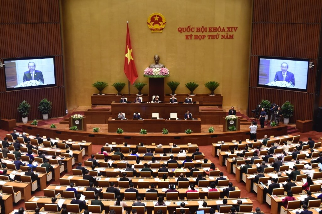 Kỳ họp thứ 5, Quốc hội khóa XIV, tháng 5/2018 thông qua luật an ninh mạng