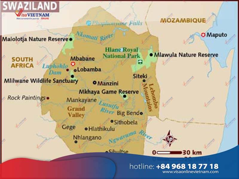 How To Apply For Vietnam Visa On Arrival In Swaziland
