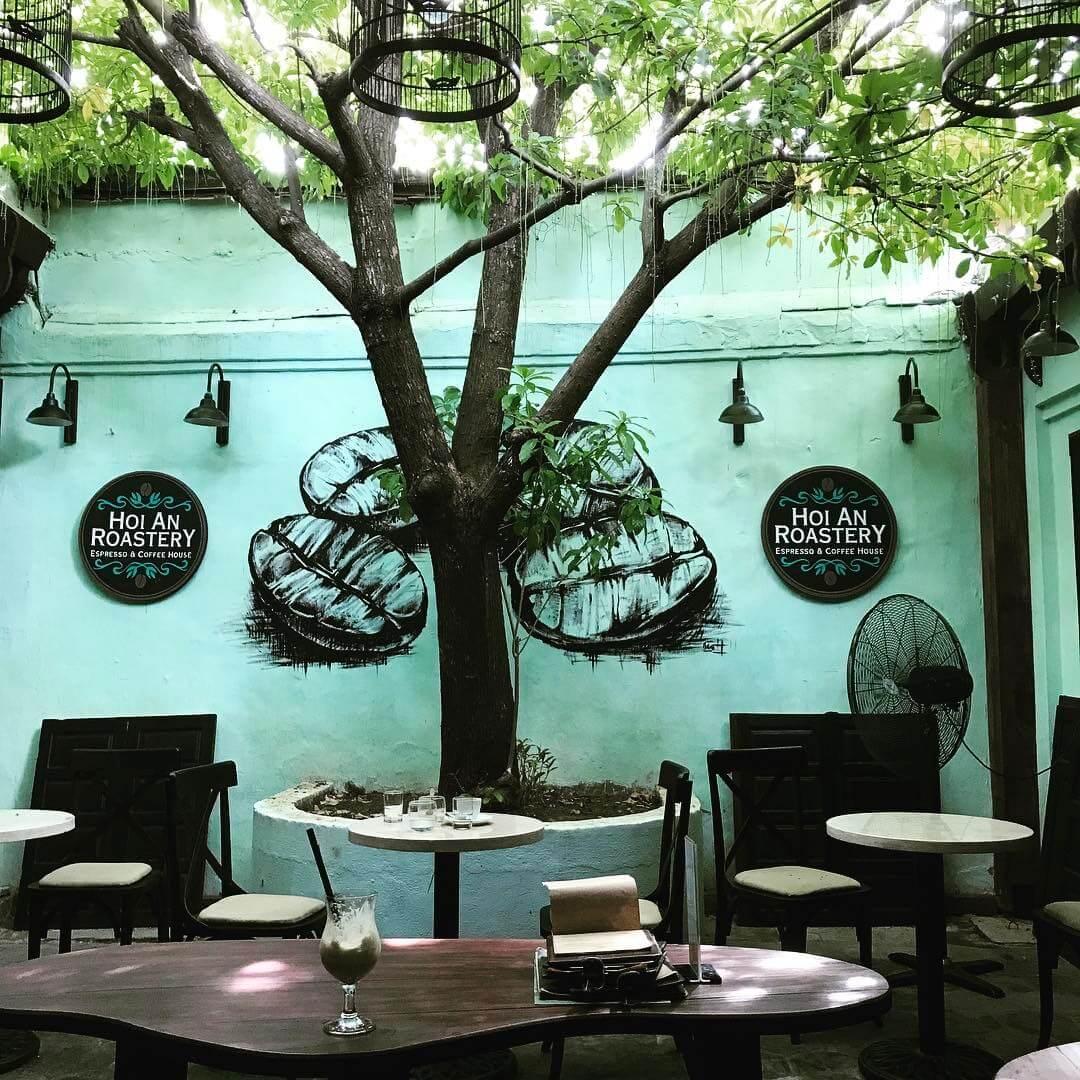 Roastery coffee là một trong những quán cà phê ấn tượng bậc nhất ở Hội An